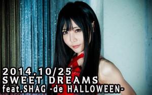 s2014.10-25 SWEET DREAMS feat.SHAG -de HALLOWEEN--2